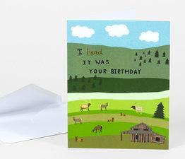 I Herd it Was Your Birthday