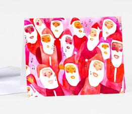 Singing Santas
