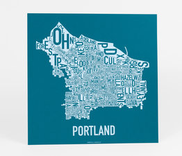 Portland Neighborhood Map
