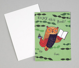 Enjoy This Book Gift Tag