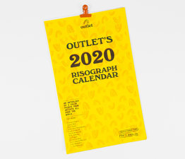 Outlet's 2020 Risograph Calendar