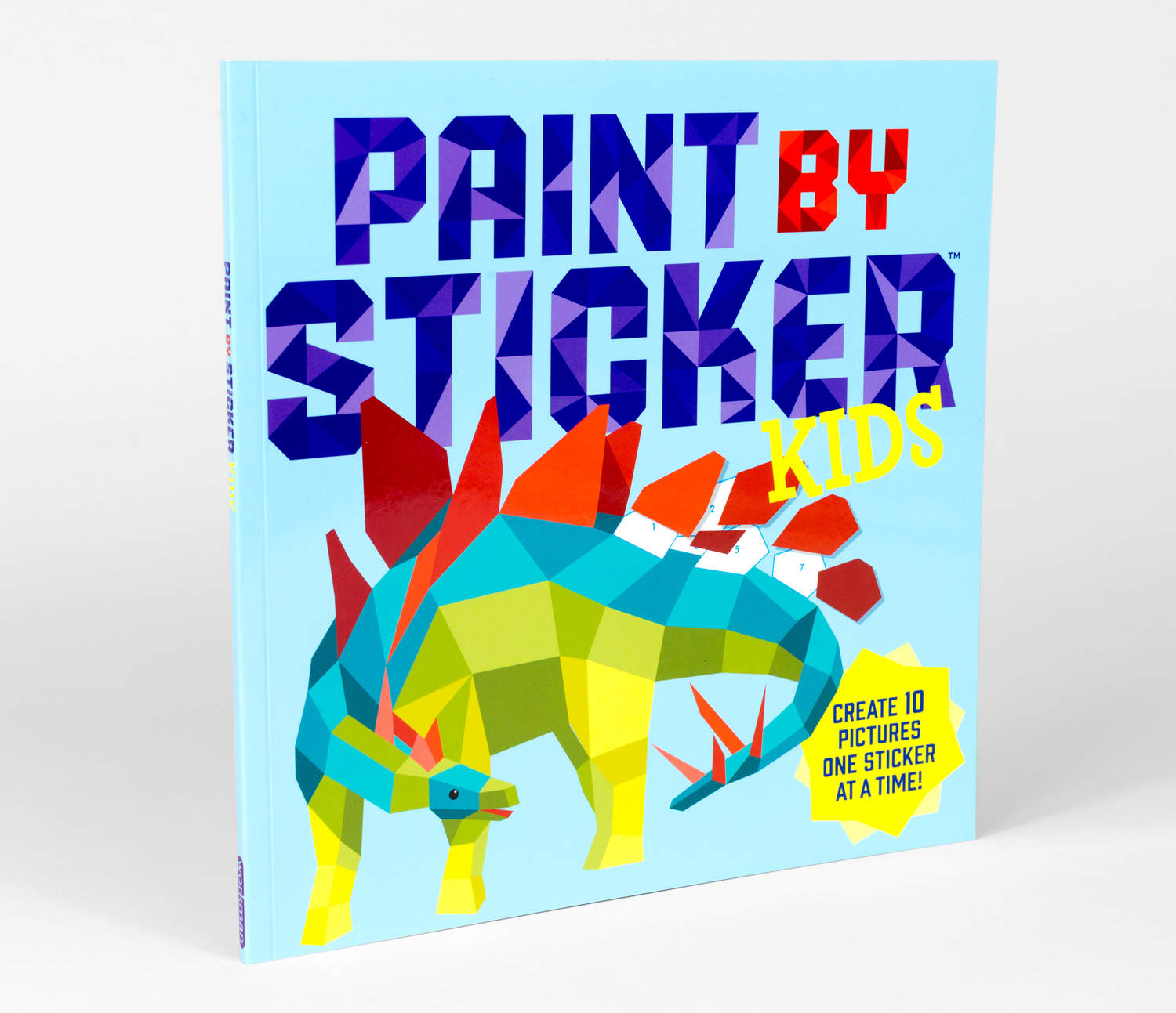 workman paint by sticker kids - Kids Paint Book
