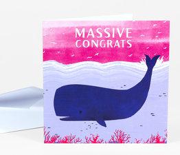 Massive Congrats Whale