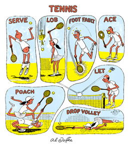 Al Jaffee - Tennis