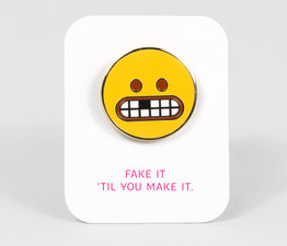Toothmoji Enamel Pin