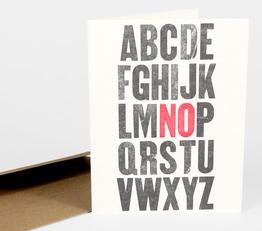 No (Alphabet)