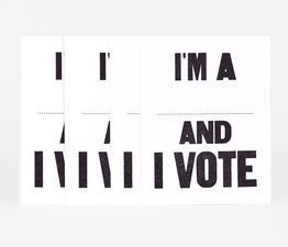 And I Vote