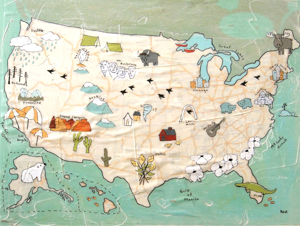 Rachel Austin Us Map