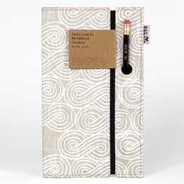 Large Canvas Notebook
