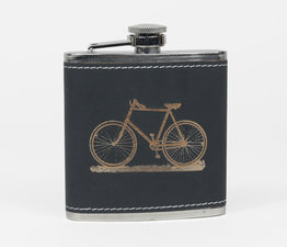 Black Bicycle Flask