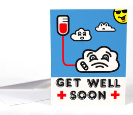 Get Well (with inscription)