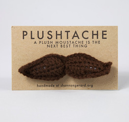 Brown Plushtache