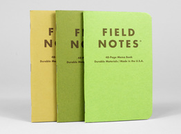 Shenandoah Field Notes