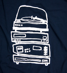 Stereo Stack - Navy