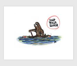 Sup Yoga Sloth