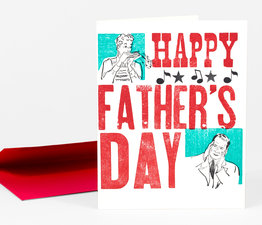 Happy Father's Day Harmonica