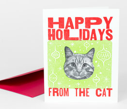 Happy Holidays from the Cat