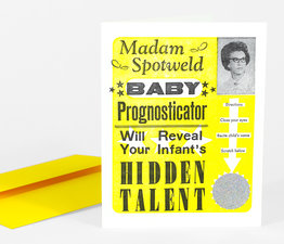 Madam Spotweld Baby Prognosticator Scratch Off