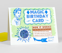 Magic Birthday Scratch Off