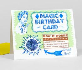 Magic Birthday Scratch Off