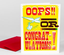 Oops or Congratulations!