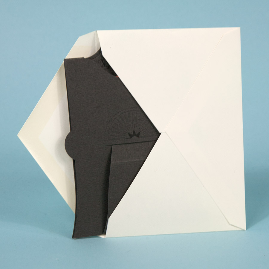stumptown printers the amazing folding display frame and notecard
