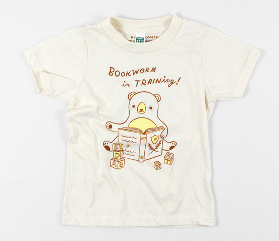 susie-ghahremani-bookworm-in-training-kids-shirt