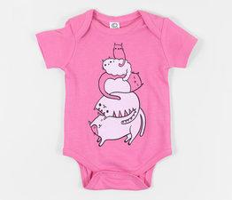 Kitty Pile (Pink)