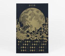 2018 Lunar Calendar Poster