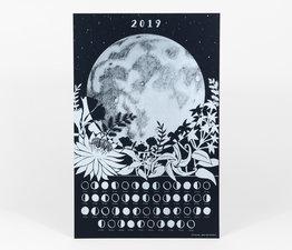 2019 Lunar Calendar Poster