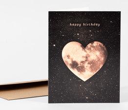 Happy Birthday Heart Moon