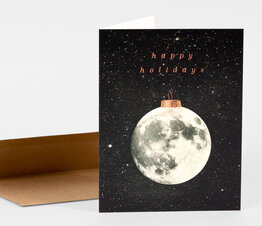Happy Holidays Moon