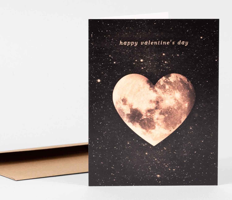 Valentine notecard
