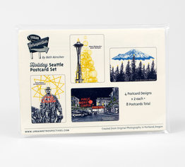 Seattle Holiday Postcard Pack