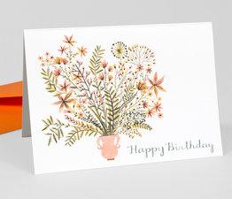 Happy Birthday [Pink Vase]