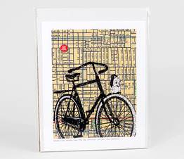 Bicycle With Mascot